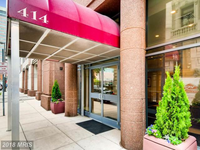 414 Water Street #2406, Baltimore, MD 21202 (#BA10280067) :: ExecuHome Realty