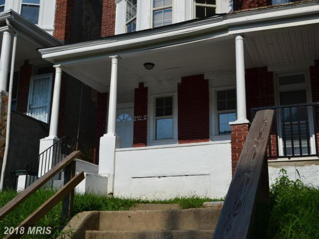 2425 Denison Street, Baltimore, MD 21216 (#BA10293867) :: Bob Lucido Team of Keller Williams Integrity
