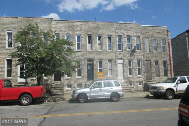 415 Smallwood Street S, Baltimore, MD 21223 (#BA9751815) :: LoCoMusings