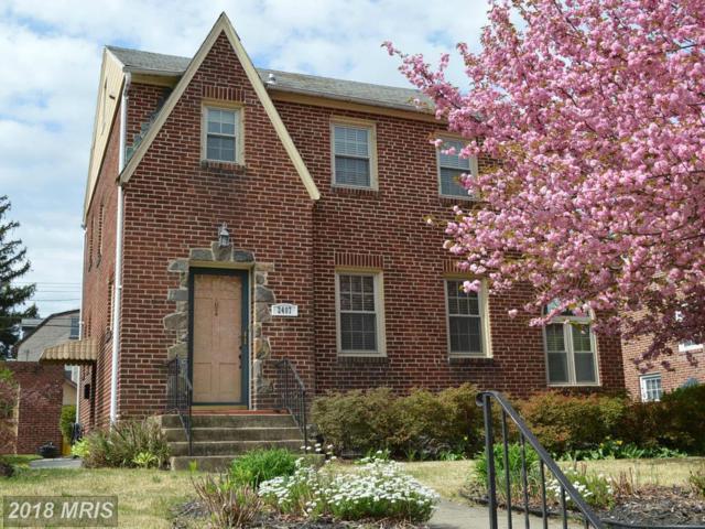 2407 Pelham Avenue, Baltimore, MD 21213 (#BA9917004) :: Pearson Smith Realty