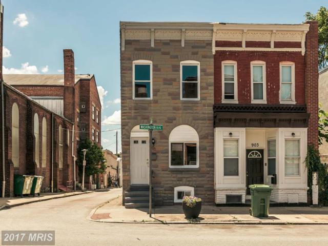 901 Washington Boulevard, Baltimore, MD 21230 (#BA9971459) :: Pearson Smith Realty