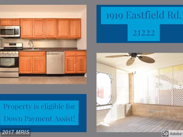 1919 Eastfield Road, Baltimore, MD 21222 (#BC9903290) :: Pearson Smith Realty