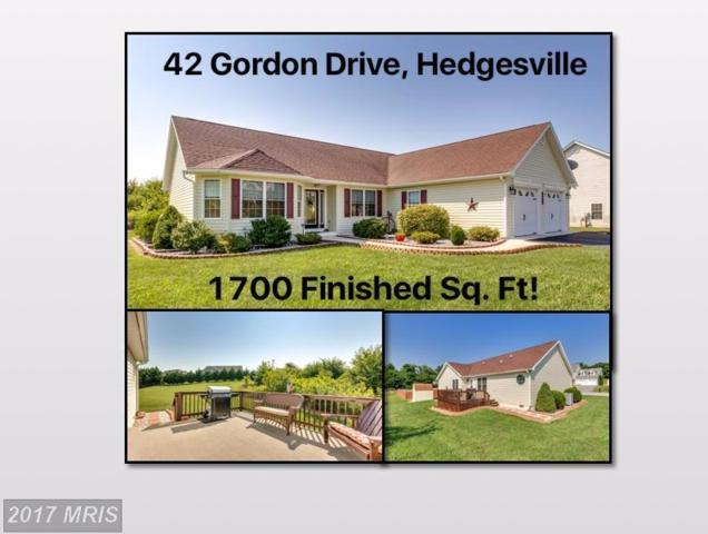42 Gordon Drive, Hedgesville, WV 25427 (#BE10012051) :: Pearson Smith Realty