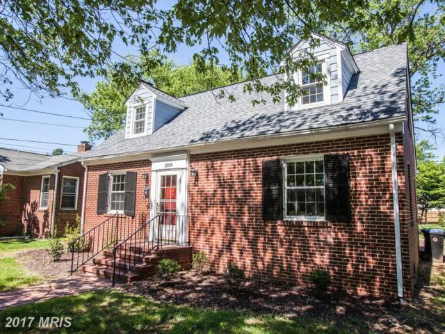 1209 Stafford Avenue, Fredericksburg, VA 22401 (#FB9948496) :: LoCoMusings