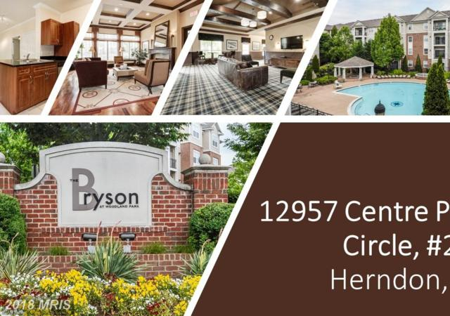 12957 Centre Park Circle #205, Herndon, VA 20171 (#FX10299411) :: The Greg Wells Team