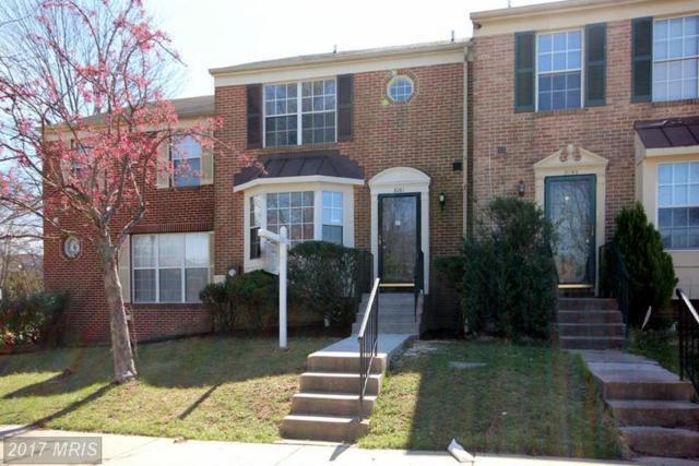 8161 Fenwick Court, Laurel, MD 20707 (#PG9902980) :: LoCoMusings