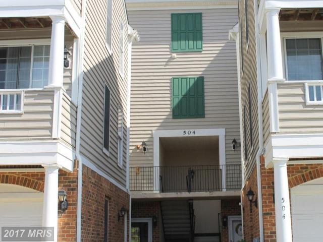 504 Mathias Hammond Way #205, Annapolis, MD 21401 (#AA10037526) :: LoCoMusings