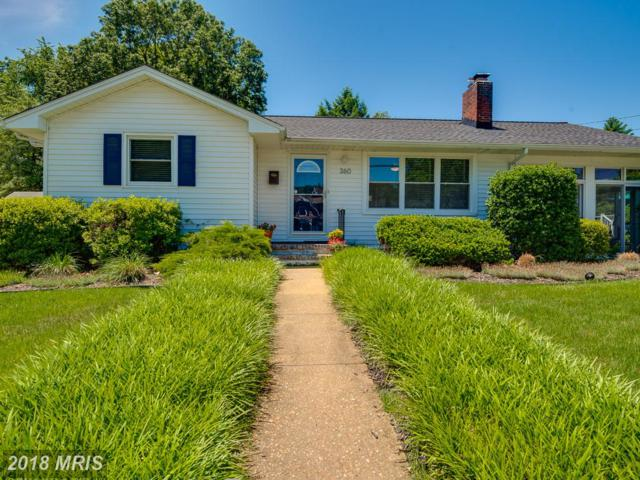 360 Dewey Drive, Annapolis, MD 21401 (#AA10158176) :: The Gus Anthony Team