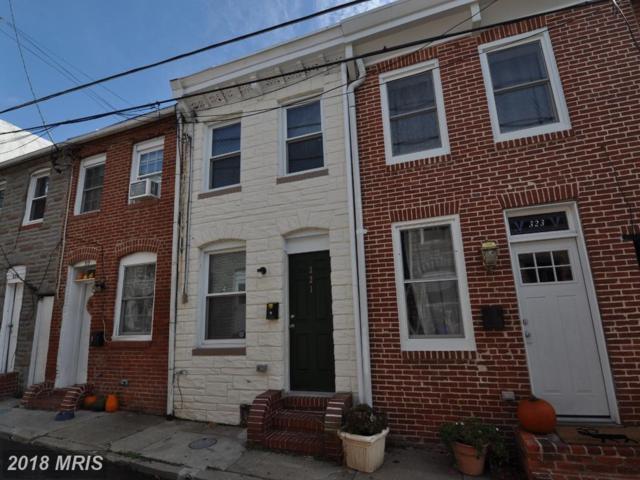 321 Chapel Street S, Baltimore, MD 21231 (#BA10080209) :: Pearson Smith Realty