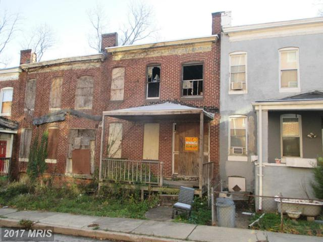 3459 Cottage Avenue, Baltimore, MD 21215 (#BA9534407) :: LoCoMusings