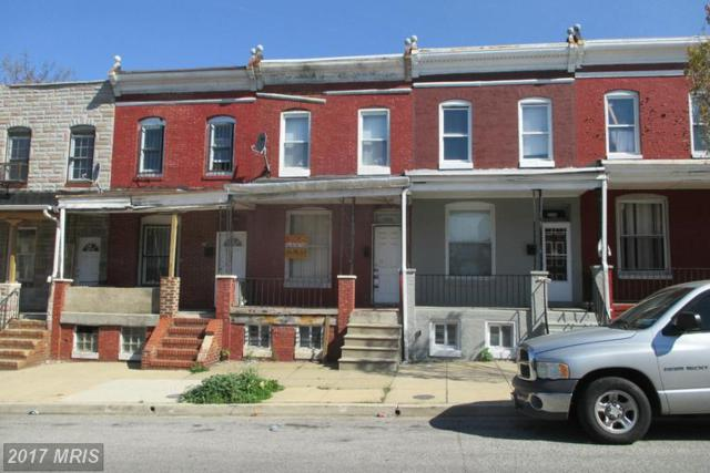 2156 Hollins Street, Baltimore, MD 21223 (#BA9637895) :: Pearson Smith Realty