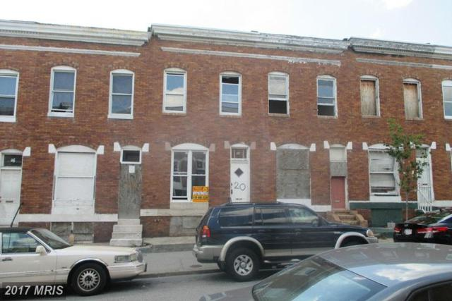 20 Wheeler Avenue N, Baltimore, MD 21223 (#BA9751793) :: Pearson Smith Realty