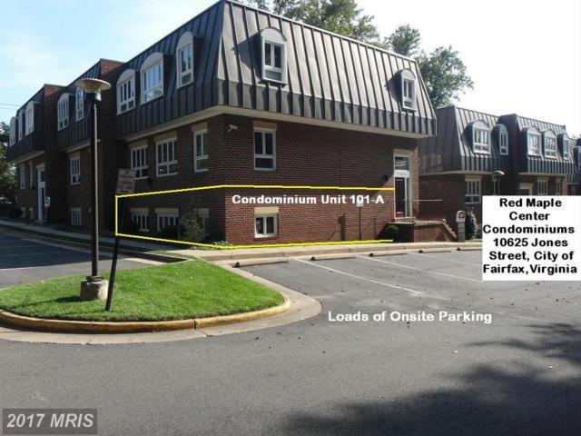 10625 Jones Street 101A, Fairfax, VA 22030 (#FC9770008) :: Pearson Smith Realty