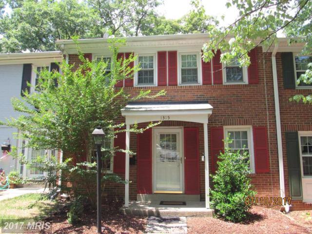 1315 Mead Terrace, Woodbridge, VA 22191 (#PW9967330) :: LoCoMusings