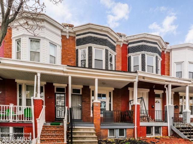 445 28TH Street, Baltimore, MD 21218 (#BA10090282) :: Pearson Smith Realty
