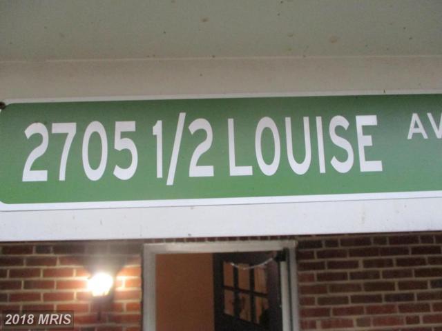 2705-1/2 Louise Avenue, Baltimore, MD 21214 (#BA10096666) :: Pearson Smith Realty