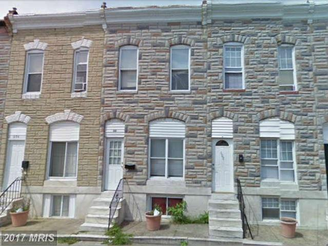 606 Luzerne Avenue, Baltimore, MD 21205 (#BA8327867) :: Pearson Smith Realty