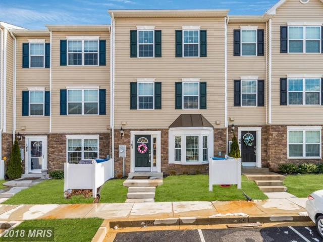 1821 Cassandra Drive #157, Eldersburg, MD 21784 (#CR10160278) :: Provident Real Estate