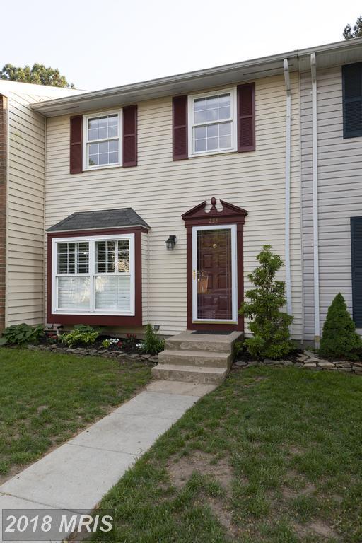 238 Chalet Circle E, Millersville, MD 21108 (#AA10238737) :: Dart Homes