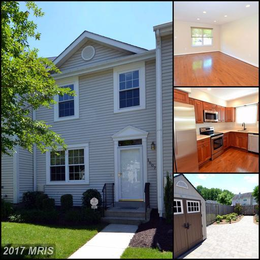 1607 Heather Place, Crofton, MD 21114 (#AA9965470) :: LoCoMusings