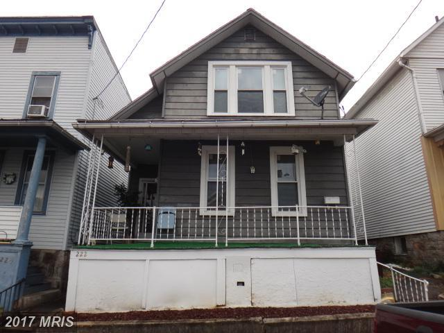 222 Carroll Street, Cumberland, MD 21502 (#AL10096713) :: The Gus Anthony Team
