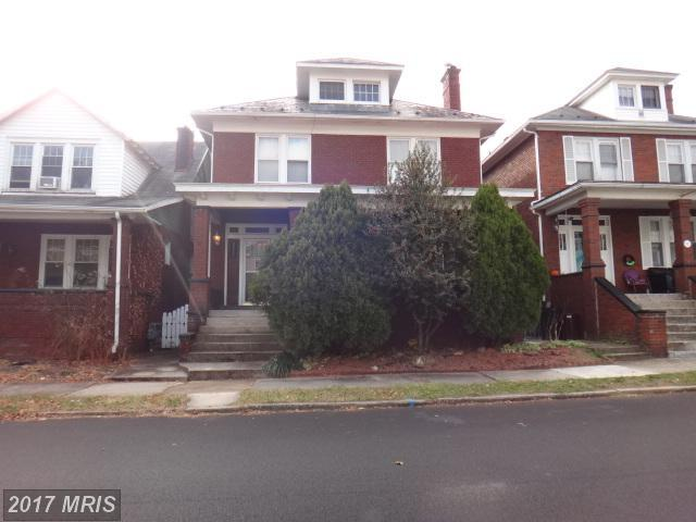 510 Beall Street, Cumberland, MD 21502 (#AL10113360) :: Pearson Smith Realty