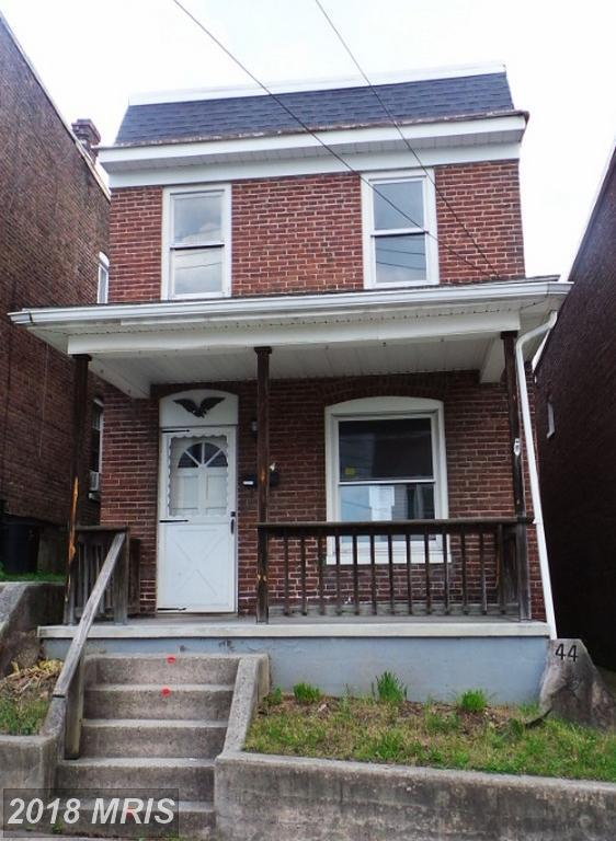 44 Marion Street, Cumberland, MD 21502 (#AL10268850) :: The Gus Anthony Team