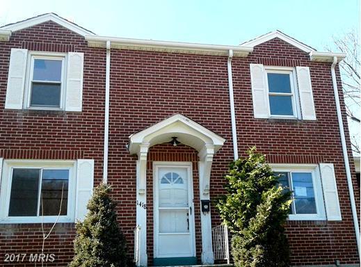 1418 Frederick Street, Cumberland, MD 21502 (#AL9955322) :: LoCoMusings