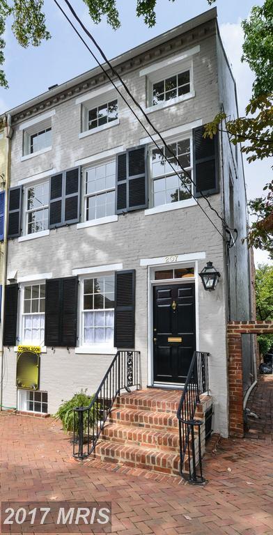 207 Gibbon Street, Alexandria, VA 22314 (#AX10056110) :: Pearson Smith Realty