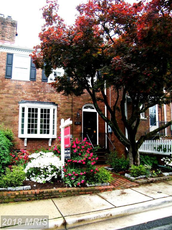 414 Jefferson Street, Alexandria, VA 22314 (#AX10278468) :: The Gus Anthony Team
