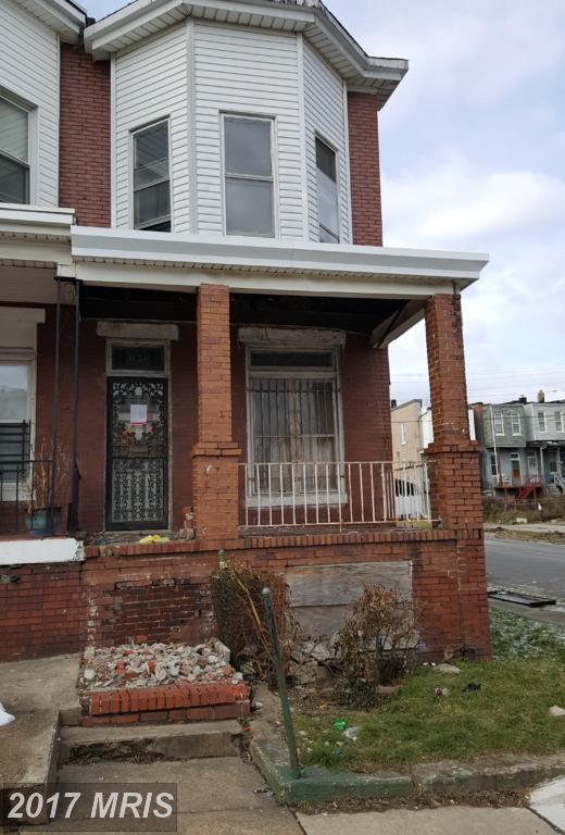 1654 Bentalou Street, Baltimore, MD 21216 (#BA10001561) :: LoCoMusings