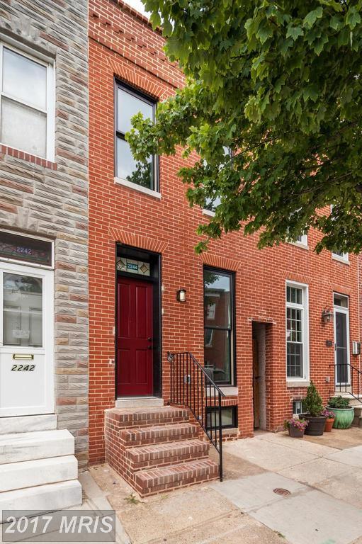 2244 Bank Street, Baltimore, MD 21231 (#BA10005586) :: LoCoMusings