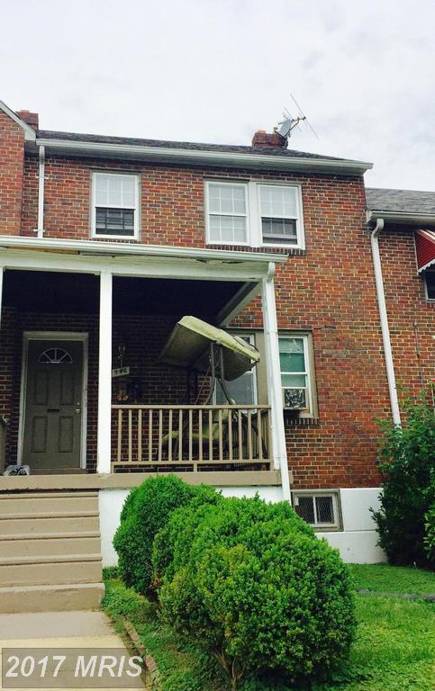 948 Argonne Drive, Baltimore, MD 21218 (#BA10009409) :: Keller Williams Pat Hiban Real Estate Group