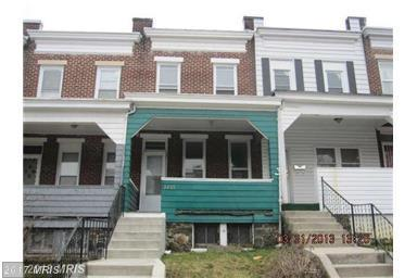 3205 Brighton Street, Baltimore, MD 21216 (#BA10013122) :: LoCoMusings