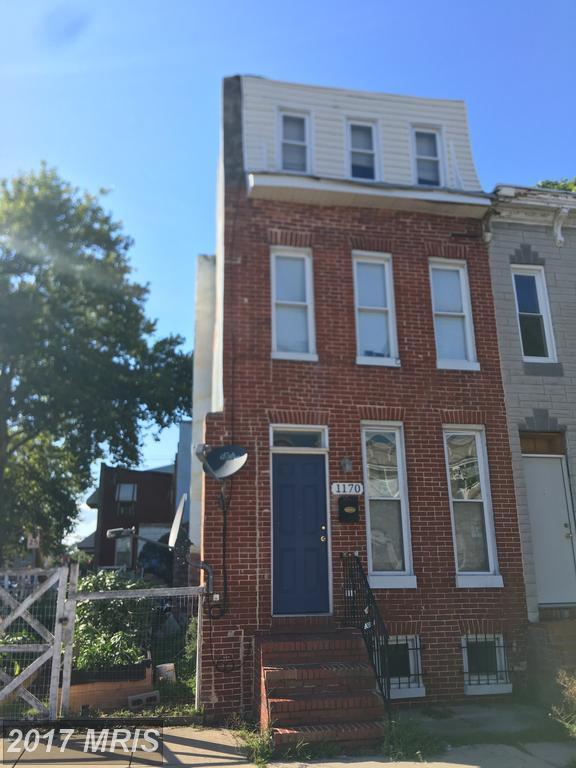 1170 Carroll Street, Baltimore, MD 21230 (#BA10016075) :: Pearson Smith Realty