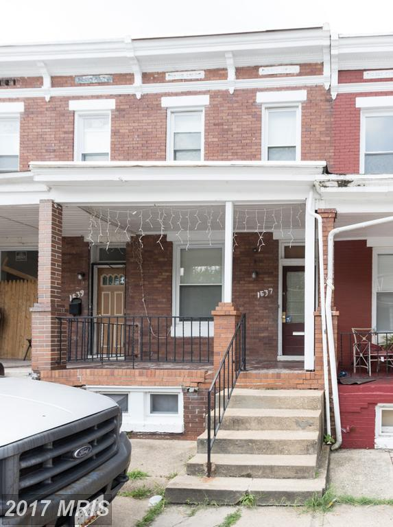 1637 Carswell Street, Baltimore, MD 21218 (#BA10018859) :: Pearson Smith Realty