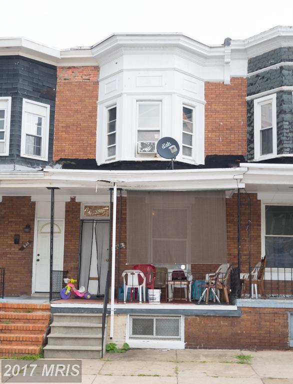 1650 Gorsuch Avenue, Baltimore, MD 21218 (#BA10018935) :: Pearson Smith Realty