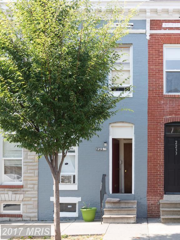 2235 Jefferson Street, Baltimore, MD 21205 (#BA10018951) :: Pearson Smith Realty