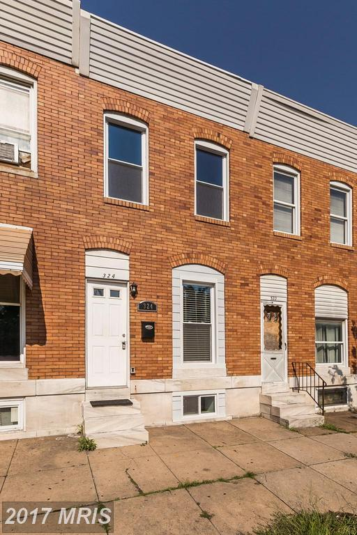 324 Oldham Street, Baltimore, MD 21224 (#BA10025840) :: Pearson Smith Realty