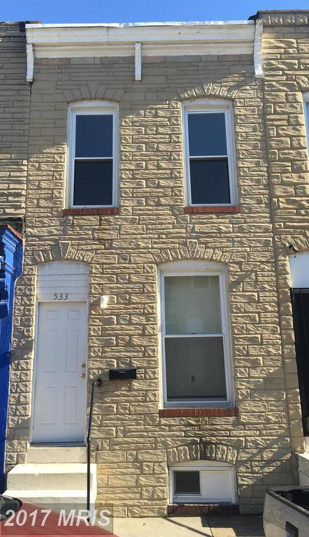 533 Glover Street, Baltimore, MD 21205 (#BA10026280) :: Pearson Smith Realty
