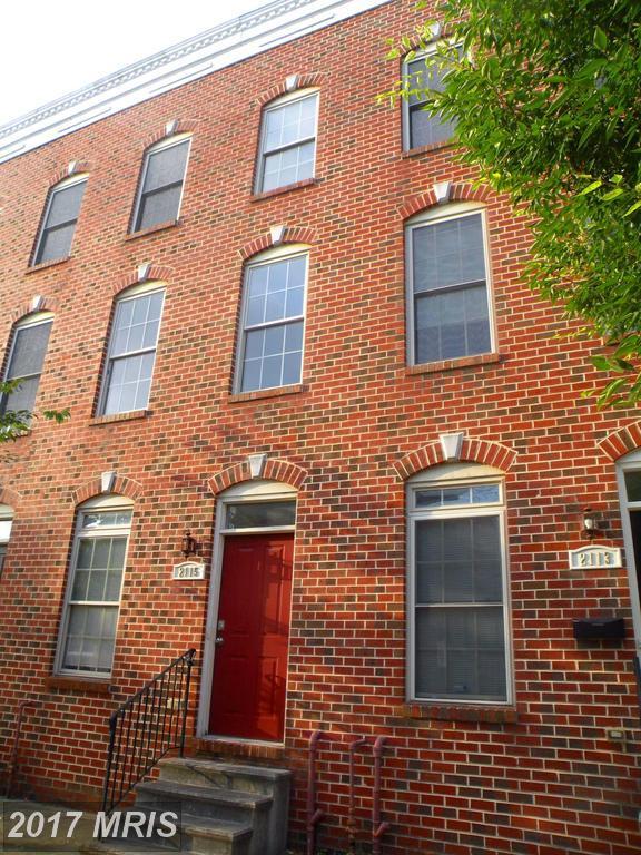 2115 E Fairmount Avenue, Baltimore, MD 21231 (#BA10028174) :: SURE Sales Group