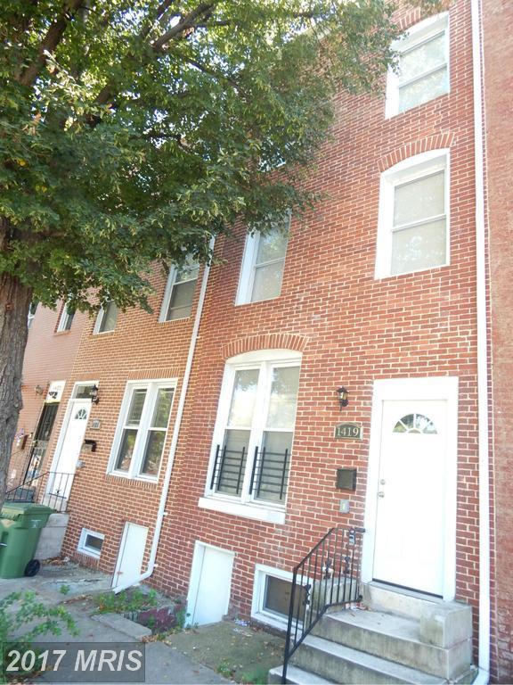 1419 Eager Street E, Baltimore, MD 21205 (#BA10028502) :: Pearson Smith Realty