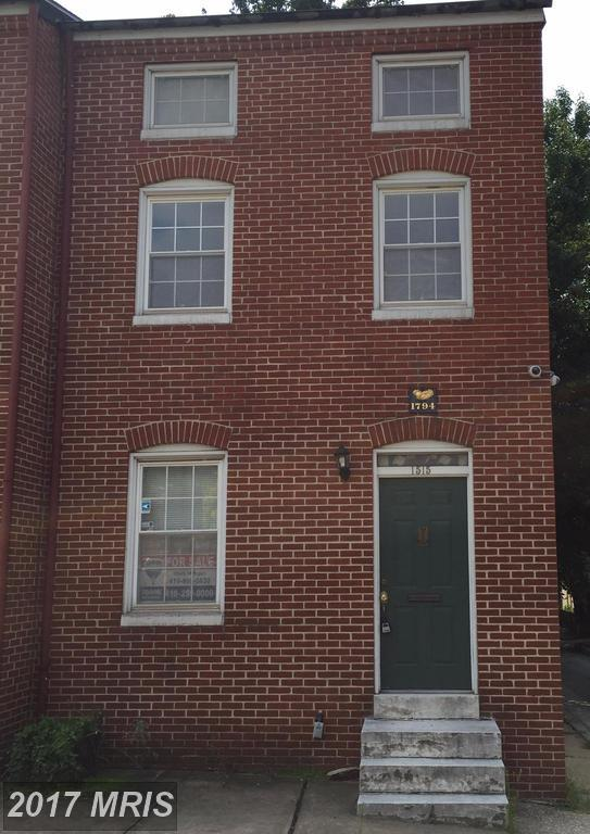 1515 Fairmount Avenue E, Baltimore, MD 21231 (#BA10029083) :: The Sebeck Team of RE/MAX Preferred