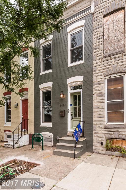 1414 Carroll Street, Baltimore, MD 21230 (#BA10029630) :: Pearson Smith Realty