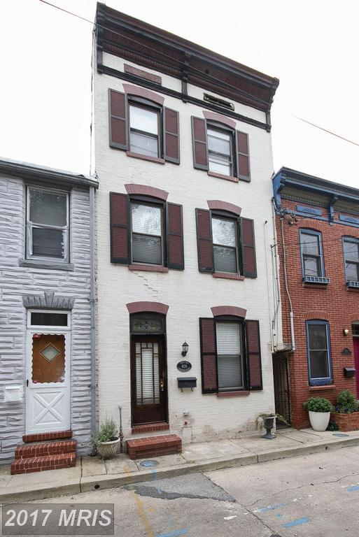 609 Durham Street S, Baltimore, MD 21231 (#BA10033172) :: The Sebeck Team of RE/MAX Preferred