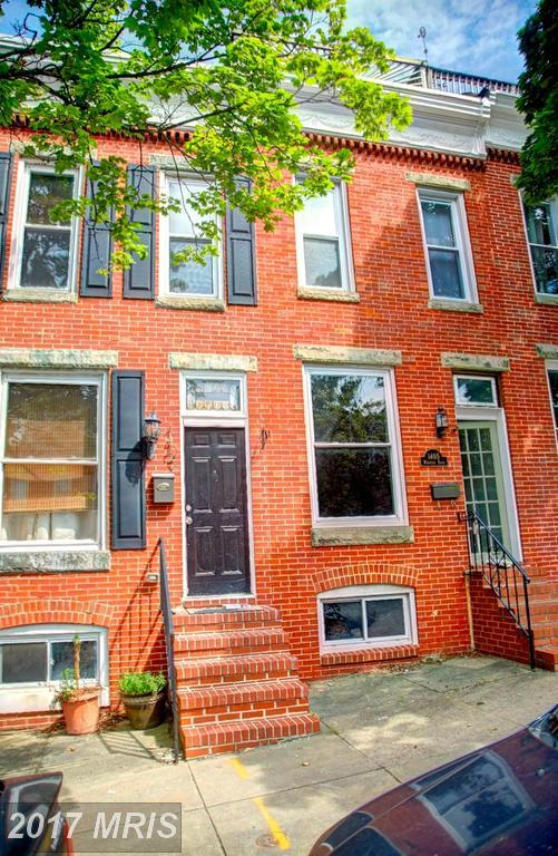 1403 Webster Street, Baltimore, MD 21230 (#BA10033384) :: The Dailey Group