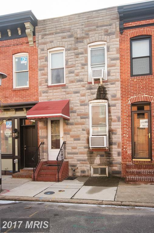 1437 Reynolds Street, Baltimore, MD 21230 (#BA10035201) :: The Dailey Group