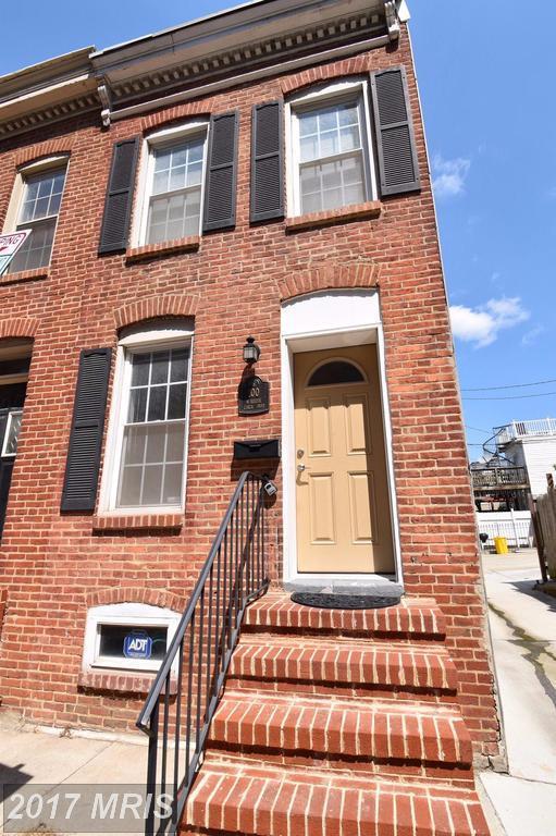 100 Heath Street W, Baltimore, MD 21230 (#BA10036436) :: The Bob Lucido Team of Keller Williams Integrity