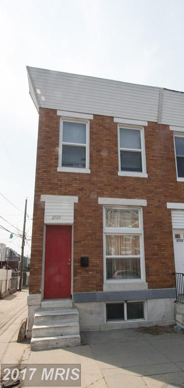 2729 Madison Street, Baltimore, MD 21205 (#BA10045841) :: Pearson Smith Realty