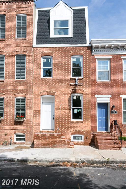 1503 William Street, Baltimore, MD 21230 (#BA10048491) :: Pearson Smith Realty
